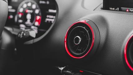 auto klimatisieren und lüften um die temperatur zu senken