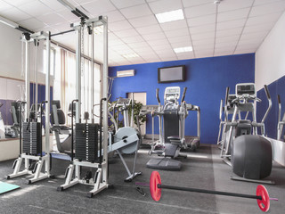 image of a fitness hall
