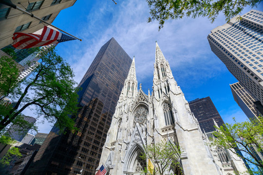 St. Patrick's Cathedral in Manhattan, NYC