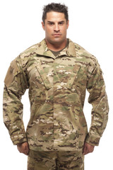 Army soldier standing