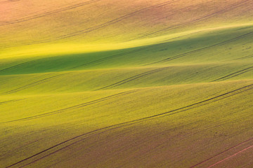Moravian Tuscany – beautiful landscape in south Moravia near Kyjov town, Czech Republic