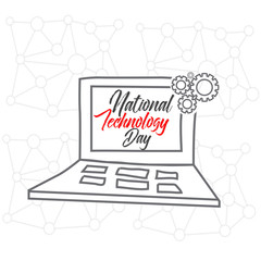 nice and beautiful abstract or poster for National Technology Day with nice and creative design illustration.