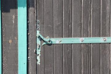 texture porte bois cabane ostréicole