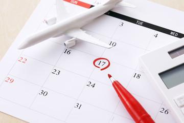 旅行イメージ Travel schedule image