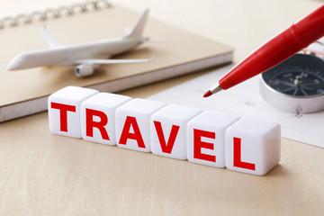 旅行イメージ TRAVEL words concept