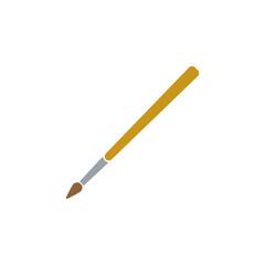 Paintbrush icon. Paintbrush symbol. Flat design. Stock - Vector illustration