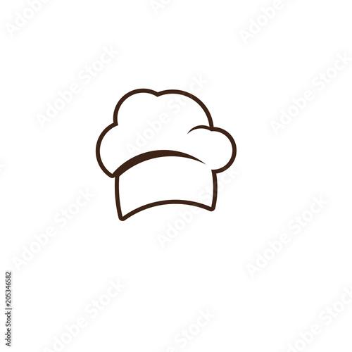 Chef Hat Vector Template Design Illustration\
