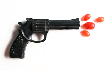 Toy gun and bullet