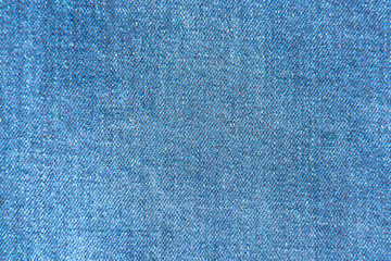 Blue jeans fabric texture for background and pattern