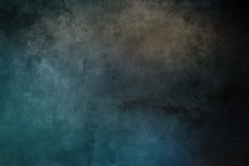 old blue grungy canvas draft background