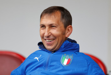 UEFA European Under-17 Championship Semi-Final - Italy vs Belgium