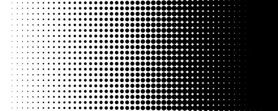 Halftone pattern spot background texture