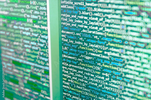 Abstract technology background  PHP data source file