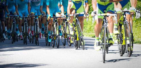 Aluminium Prints Cycling gruppo