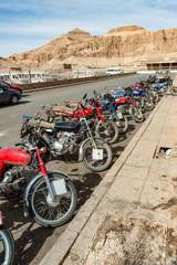 Mopedparade in Ägypten