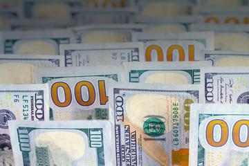 Money Bills Upright