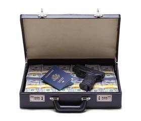 Money Gun and Passport