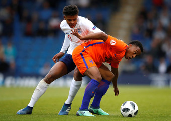 UEFA European Under-17 Championship Semi-Final - England vs Netherlands
