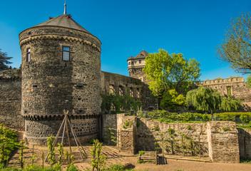 Mittelalterliche Stadtbefestigung Andernach am Rhein