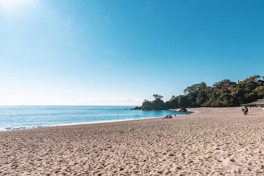 高知 桂浜の風景
