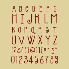 Fancy Uppercase Calligraphy