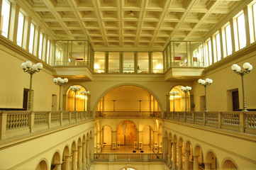 Zürich-City: The entrance-hall in the Swiss Federal Institut of Technology