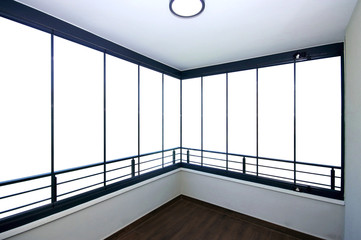 Transparent Isolated Glazing Balcony Window
