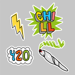 Choll sticker pack set