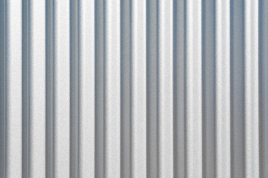 Background texture of corrugated metal.