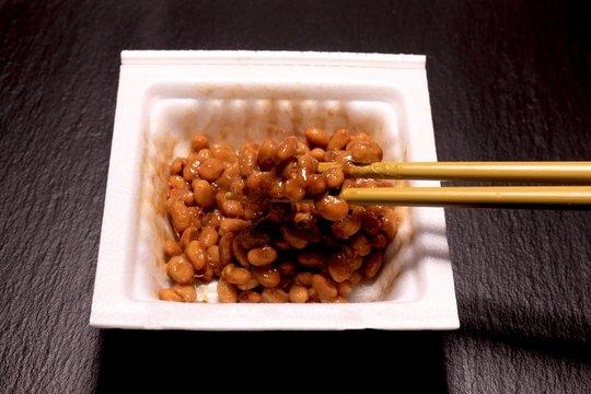 パック入り納豆