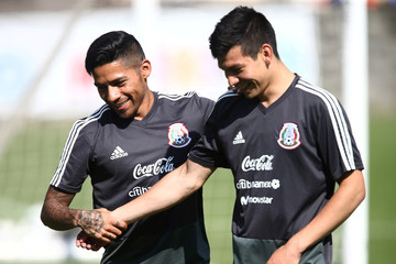 Football Soccer - Mexico's national soccer team training - World Cup 2018