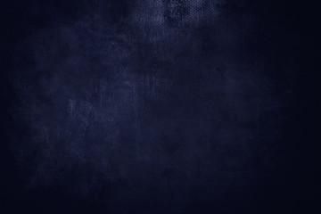 old blue navy grungy canvas background or texture