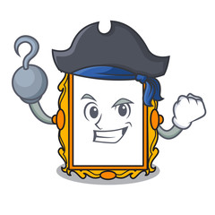 Pirate picture frame character cartoon