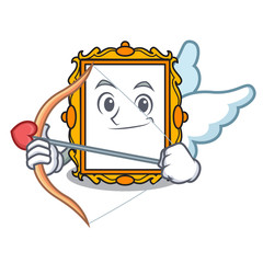 Cupid picture frame character cartoon