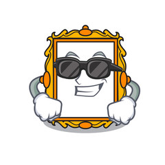 Super cool picture frame character cartoon