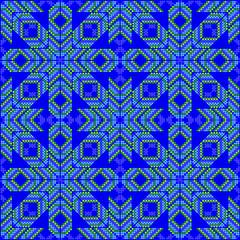 Blue pattern - Stars