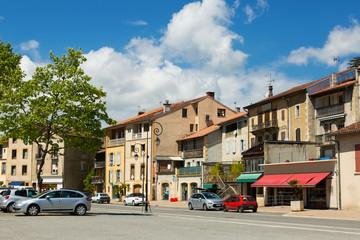 Streets of Salies-du-Salat, France