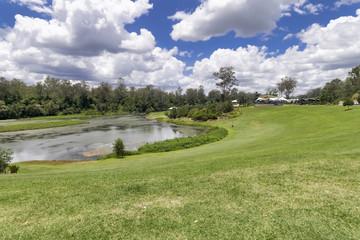 Brisbane river banks