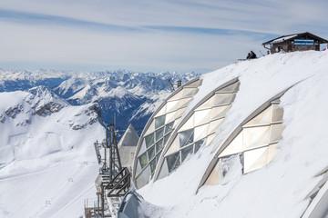 Bergstation auf der Zugspitze