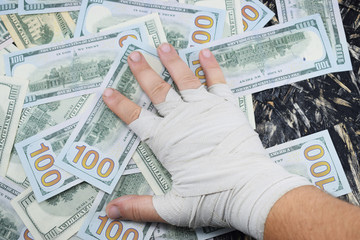 boxing for money, sport for money, dollars for boxing fights