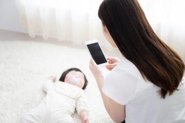 赤ちゃん 育児イメージ