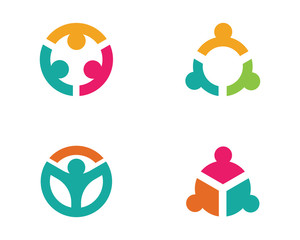 Community care Logo template