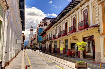 Fototapete - Cuenca, Ecuador