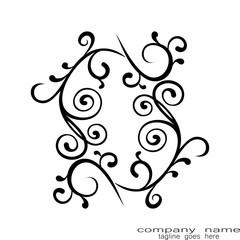 leaf tribal tattoo