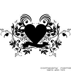 love tribal tattoo