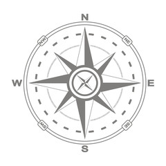 vector compass rose for your design