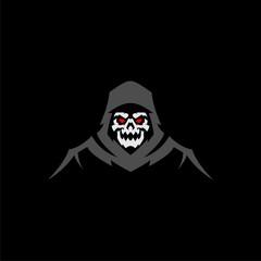 vengeful ghost skull vector