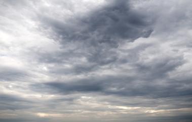 Dark storm clouds background