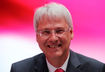 German Telekom AG board member Kremer is pictured before the annual shareholders meeting of the telecommunications giant in Bonn
