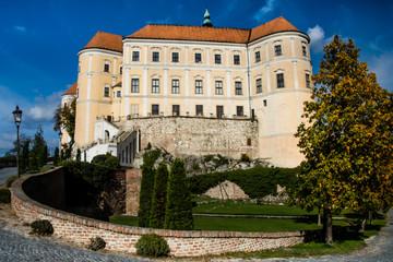 Mikulov Castle, Czech Republic, Europe